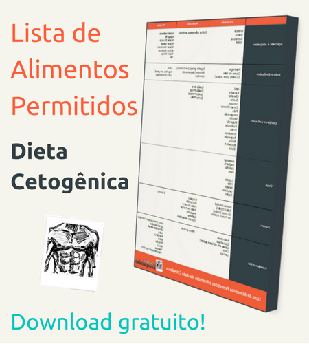 tabela de alimentos permitidos na dieta cetosisgenica
