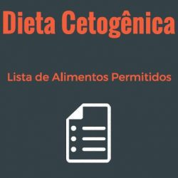 lista de alimentos permitidos cetogenica