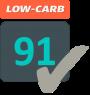low carb 91 logo