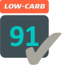 low carb 91 logo